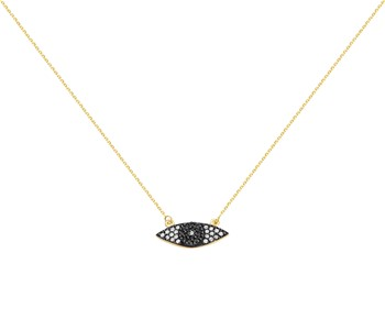 Gold luxury necklace in K14