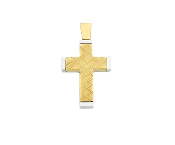 Gold cross in 14Κ