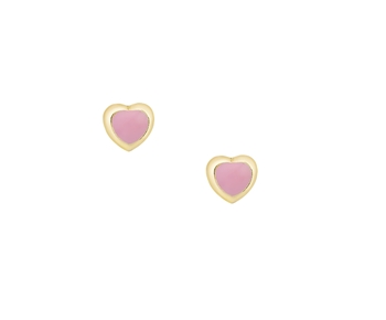 Gold earrings in 14K