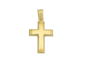Gold cross in 14K
